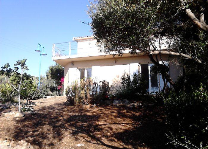 vue maison - porto-polloc - Location de vacances en Corse à Porto-Pollo