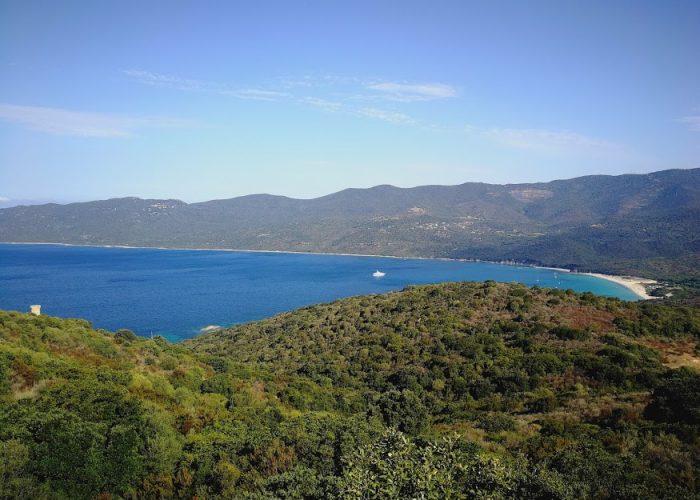 vue mer - porto-polloc - Location de vacances en Corse à Porto-Pollo