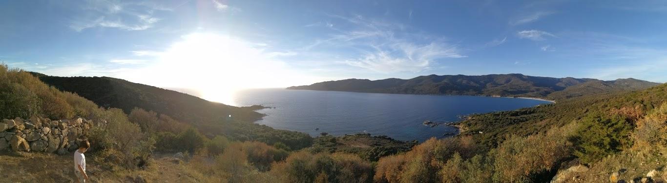 vue - porto-polloc - Location de vacances en Corse à Porto-Pollo