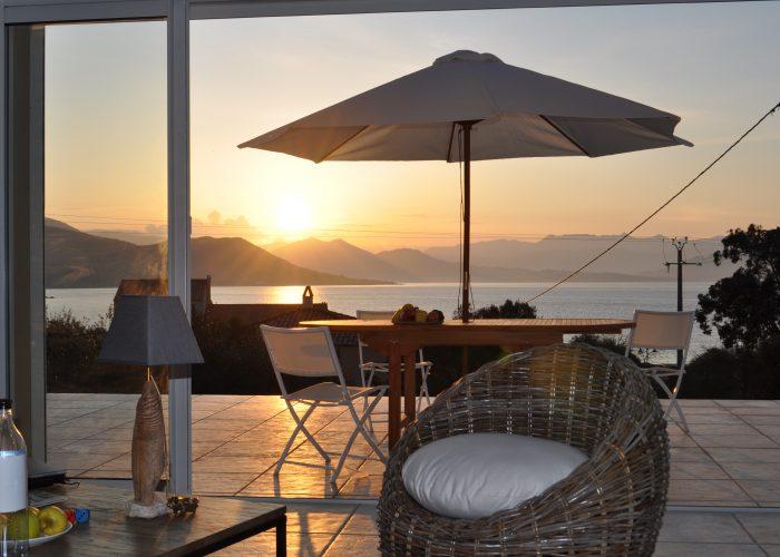 terrasse - porto-polloc - Location de vacances en Corse à Porto-Pollo