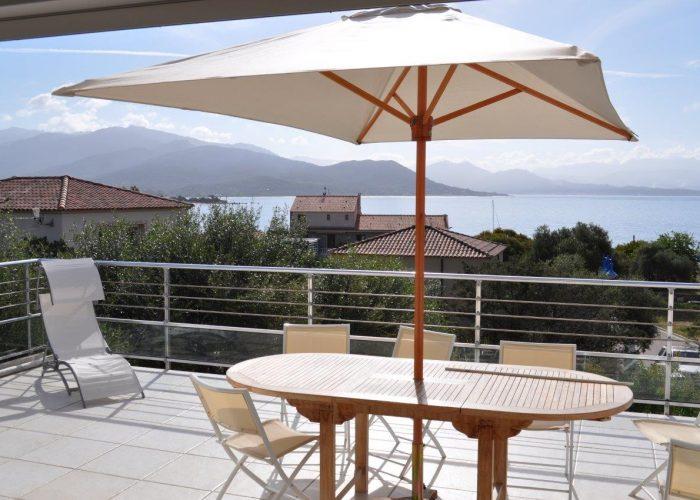 terrasse 2- porto-polloc - Location de vacances en Corse à Porto-Pollo